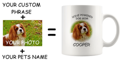 Your Pet Create Your Custom Photo Ceramic Novelty Coffee Mug, Gift for Friends, Family