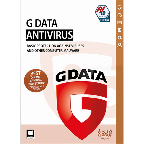 G-Data Antivirus 1 Year 1PC