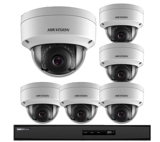 HikVision 6 Camera Security System