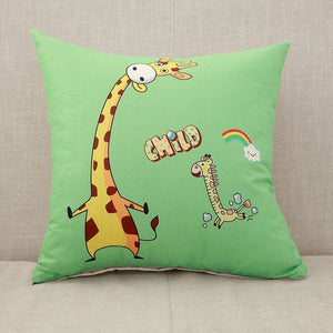 Cute Cartoon Cat Pillow Case