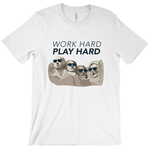 Work Hard, Play Hard Short Sleeve T-Shirt