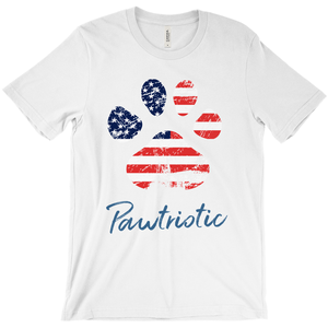 Pawtriotic Short Sleeve T-Shirt