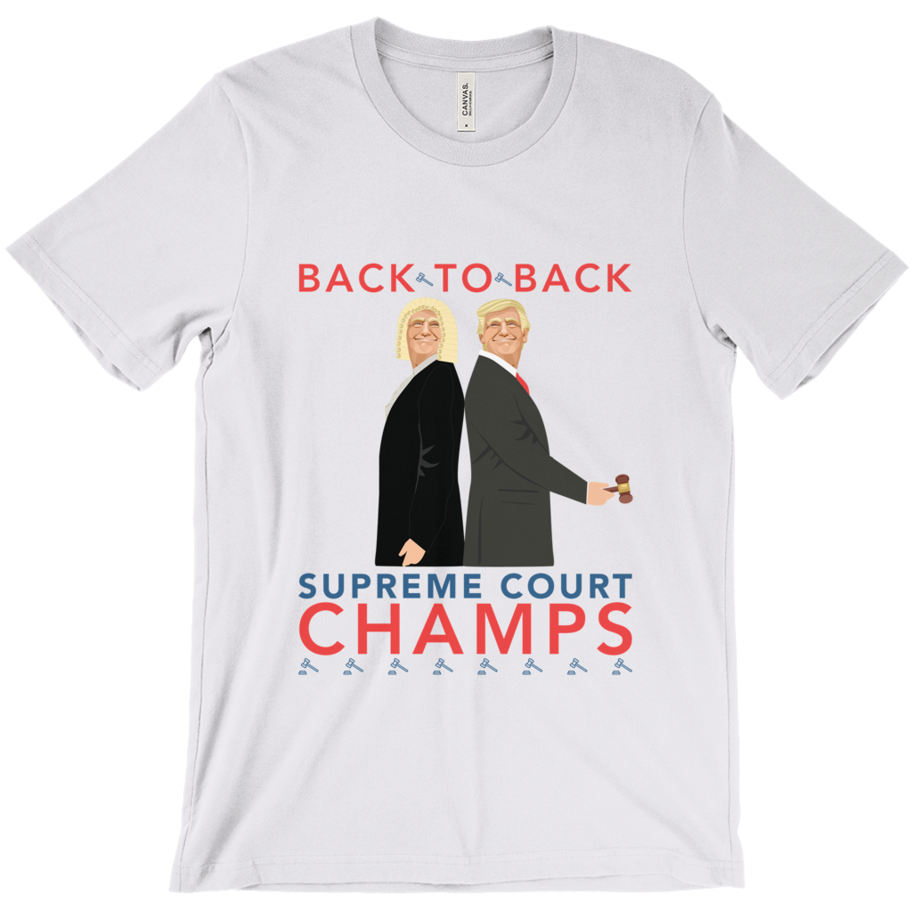 Back-to-Back SCOTUS Short Sleeve T-Shirt