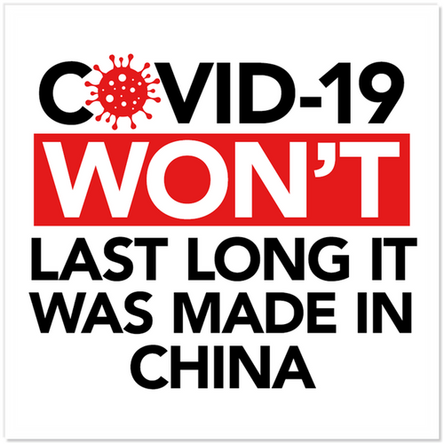 COVID-19 Won't Last Long Sticker