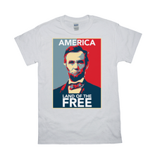 Lincoln Land of The Free T Shirt