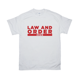 Law And Order 2020 T Shirt