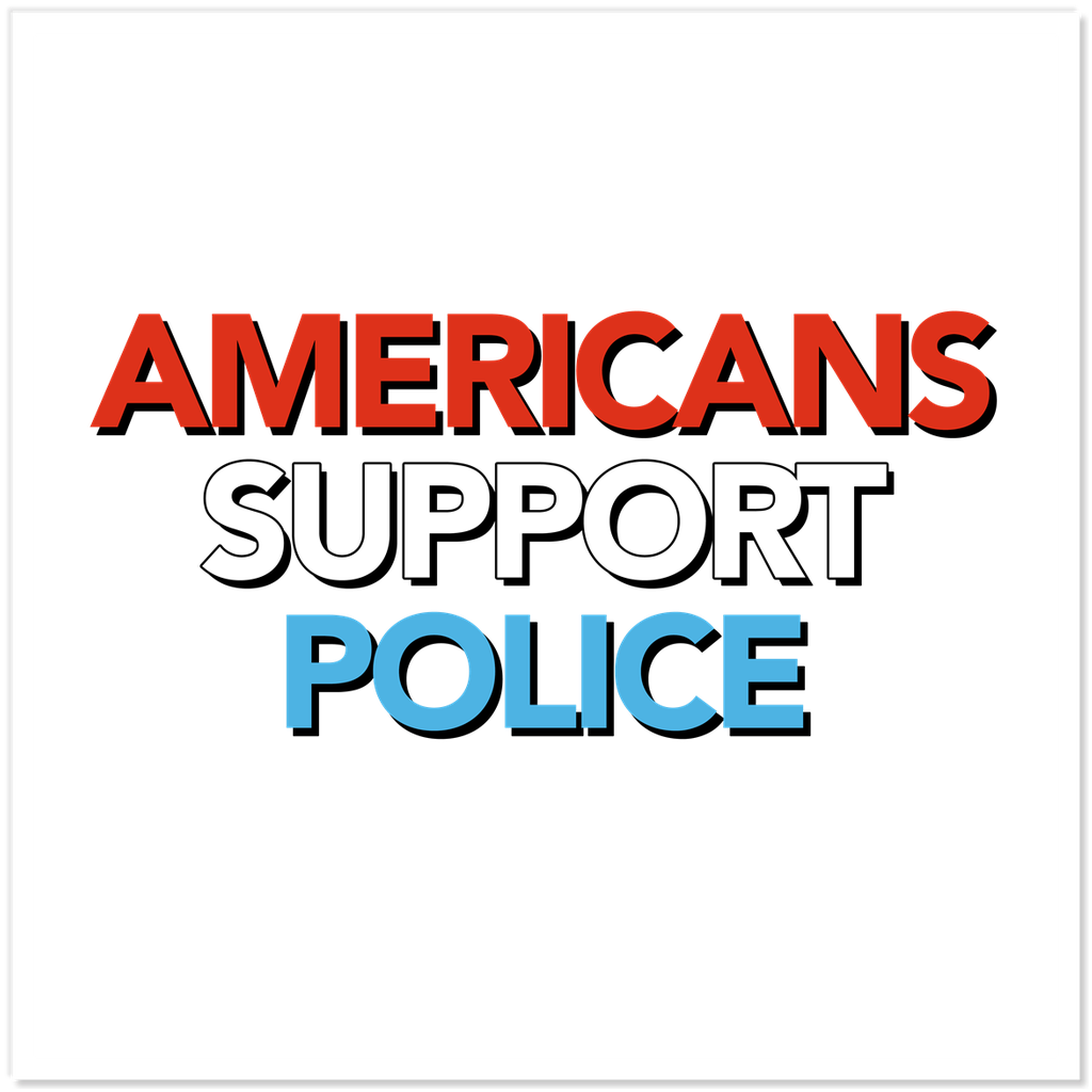 Americans Support Police Sticker