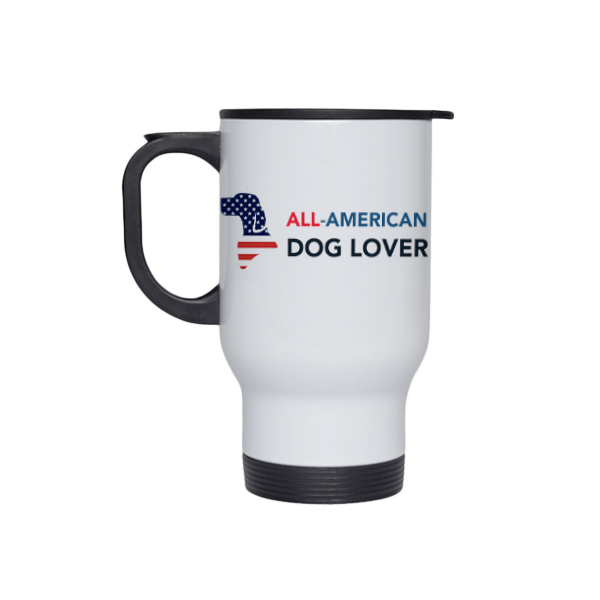All-American Dog Lover Travel Mug