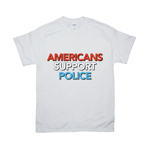 Americans Support Police T Shirt