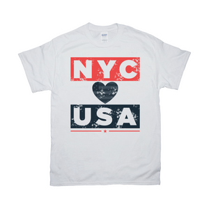 New York City USA T Shirt