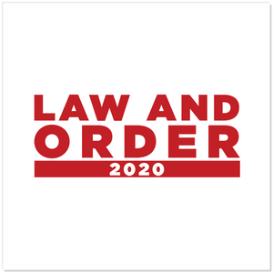 Law And Order Sticker