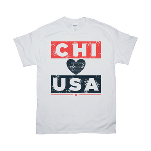 Chicago USA T shirt