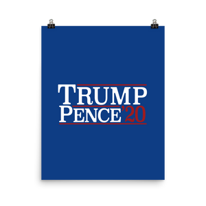Trump Pence '20 Poster