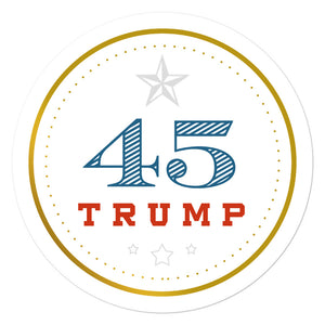 Trump 45 Sticker