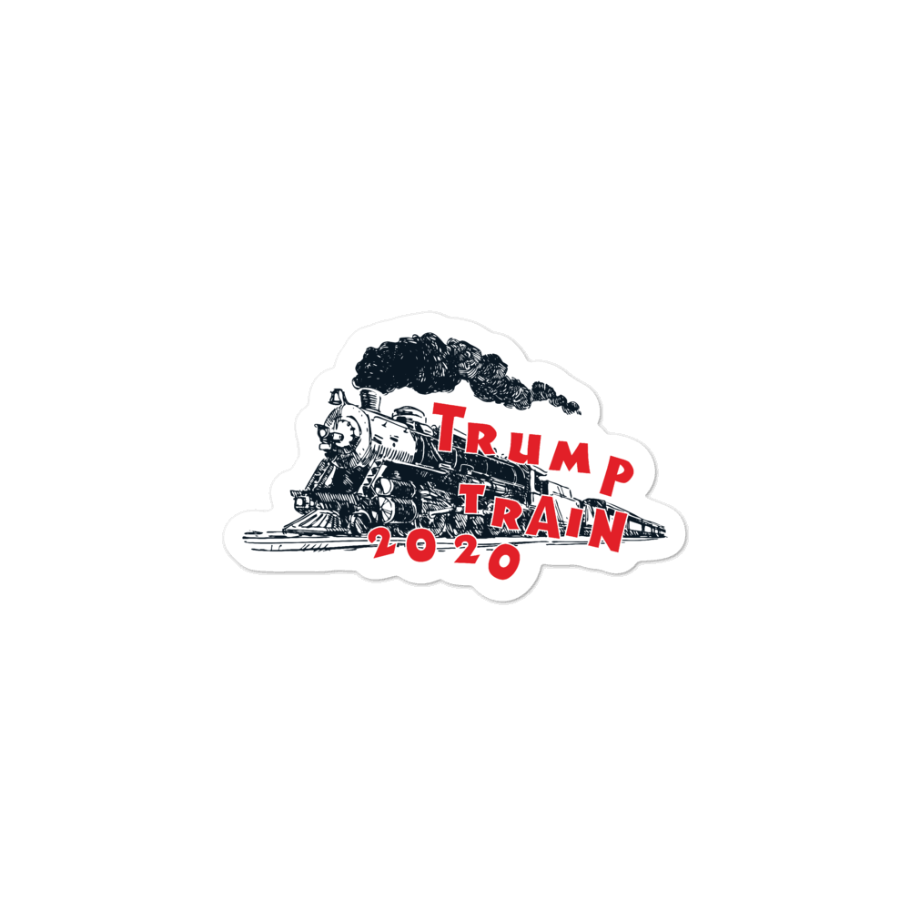 Trump Train 2020 Sticker