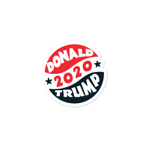 Donald Trump 2020 Sticker