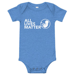 All Lives Matter Baby Onesie