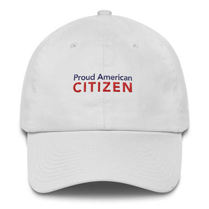Proud American Citizen Cotton Cap