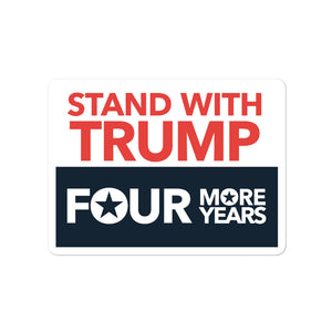 Four More Years Sticker