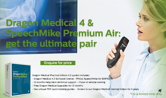 Dragon Medical 4.2 with Wireless Microphone Package