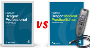 Dragon Medical Versus Dragon Professional. Whats the difference?