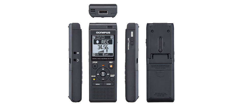 Olympus VN-741PC Digital Voice Recorder