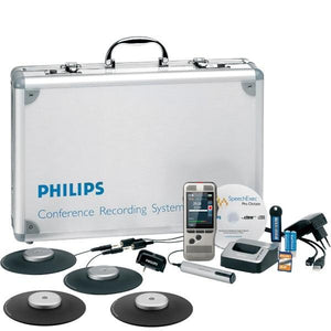 PHILIPS DPM8900 Conference / Meeting Recording Kit - Dictation Solutions Australia