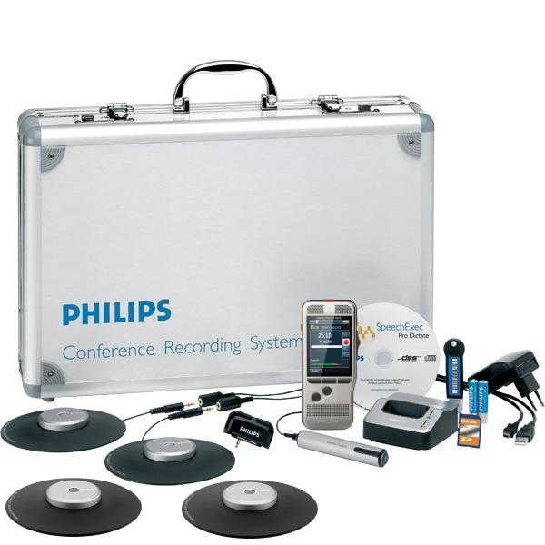 PHILIPS DPM8900 Conference / Meeting Recording Kit