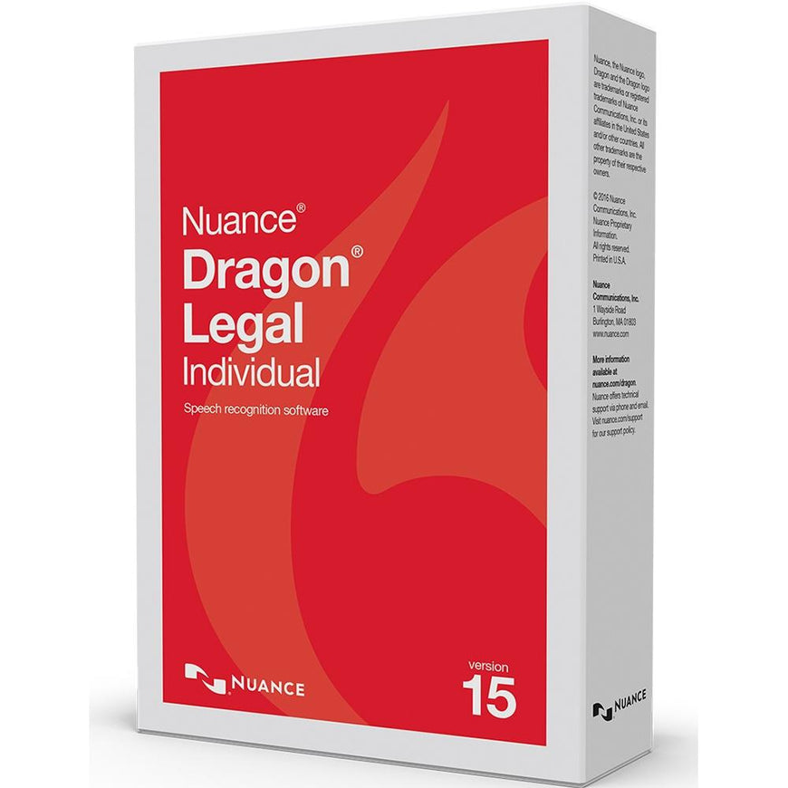 Dragon Pro Individual Legal 15 Upgrade from Pro l Legal 13/14/15 - Dictation Solutions Australia