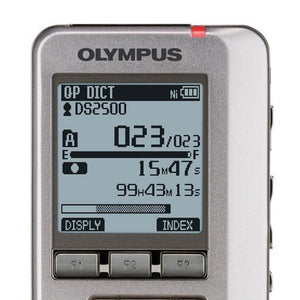 Olympus DS-2500 Dictaphone - Dictation Solutions Australia