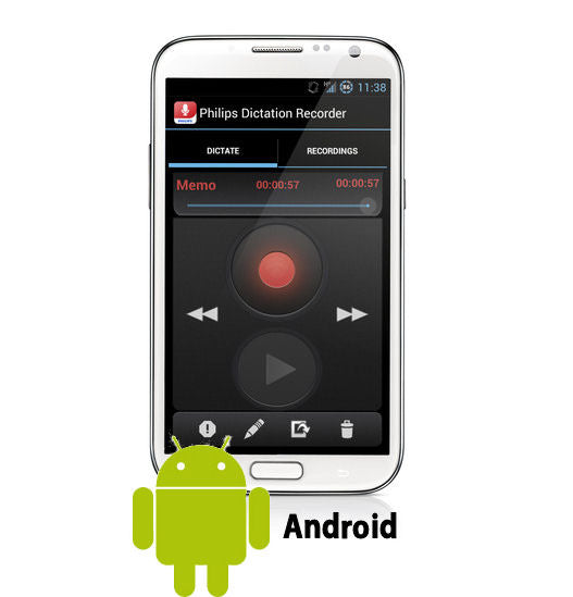 Philips LFH0747 Dictation Hub License for Android