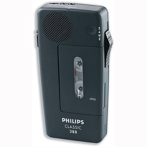Philips Classic LFH0388 Portable Pocket Memo Voice Recorder