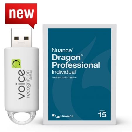 SALE Dragon Professional Individual 15 on USB Drive (PC) - Dictation Solutions Australia