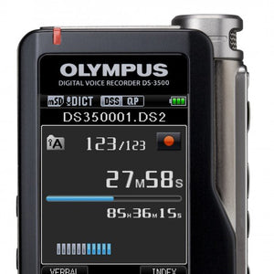 Olympus DS-3500 Dictaphone - Dictation Solutions Australia