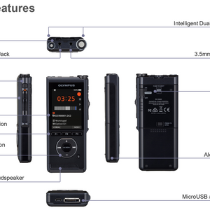 Olympus DS-9000 Professional Voice Dictation Recorder - Dictation Solutions Australia