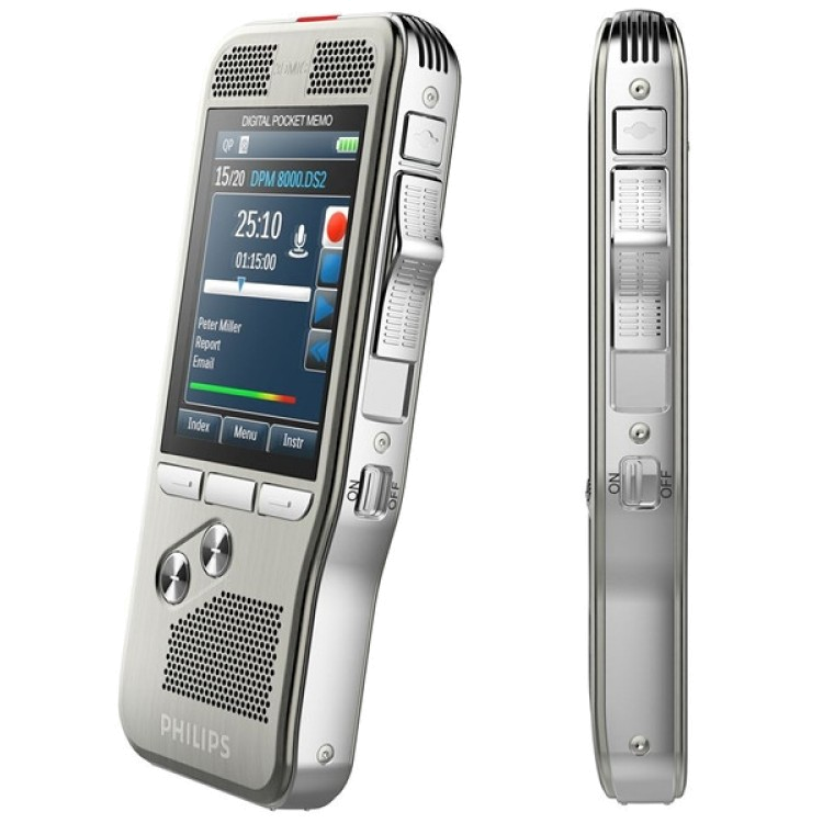 PHILIPS DPM8000 / DPM8100 Voice Recorder