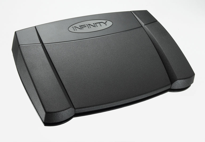 Infinity VEC IN-USB3 Transcription USB Foot Pedal - Dictation Solutions Australia