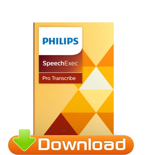 Philips SpeechExec Pro Transcribe v11 - 2 Year Subscription (LFH4512/00) - Dictation Solutions Australia