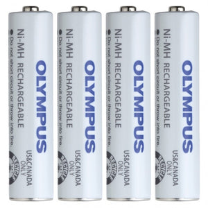 Olympus BR404 AAA Ni-MH Rechargeable Battery (Set of 4) - Dictation Solutions Australia