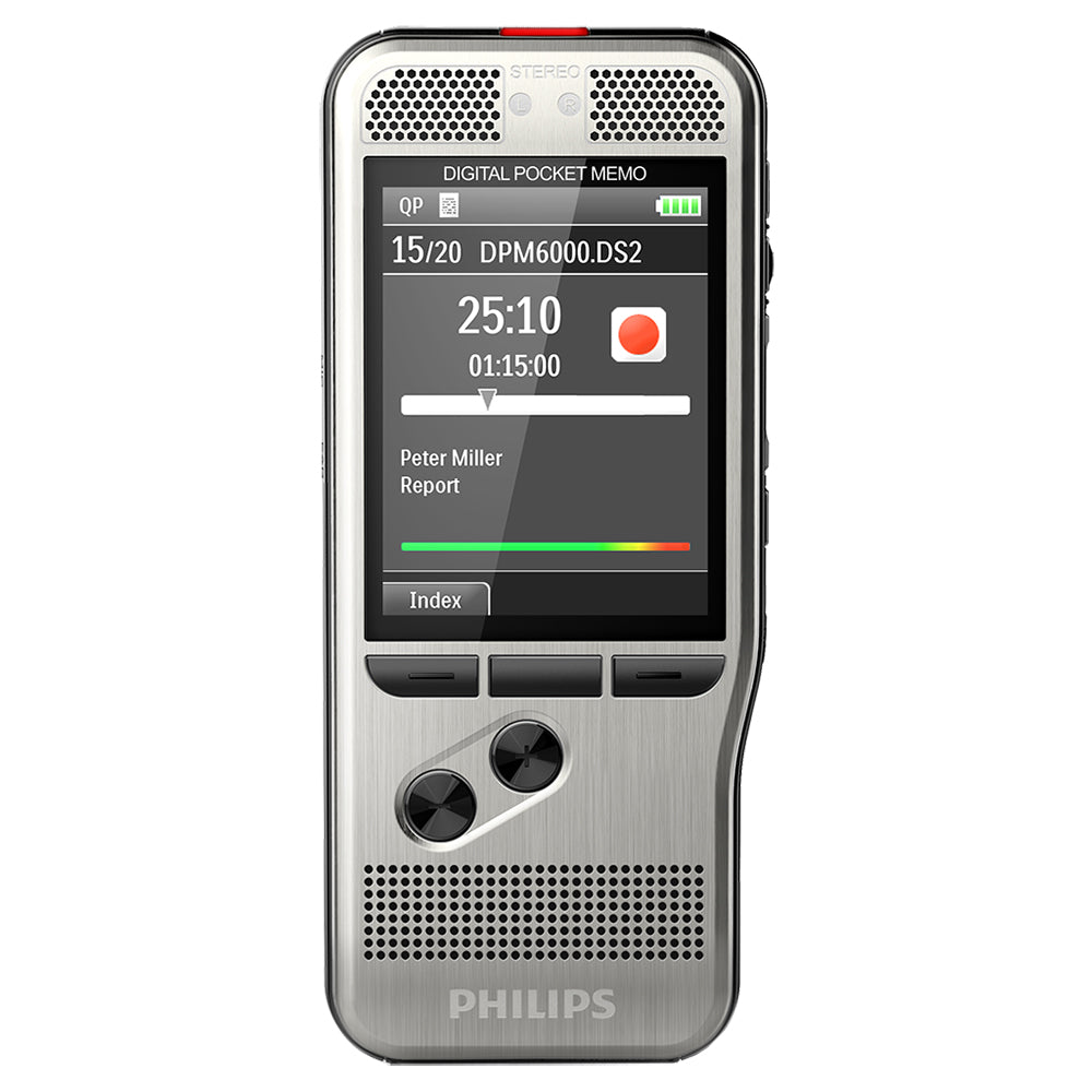 PHILIPS DPM6000 - Pocket Memo Voice Recorder