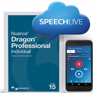 Smartphone Automatic Transcription System - Speechlive & Dragon 15