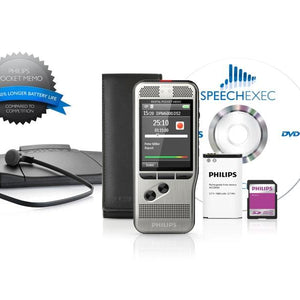 PHILIPS DPM6700 Transcription Kit & Recorder Package