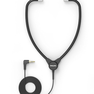 Philips ACC0232 Headphone - Stethoscope style in-ear version - Dictation Solutions Australia