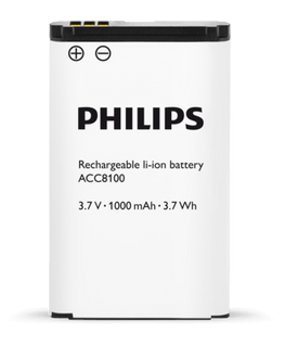 Philips ACC8100 Rechargeable li-ion Battery - Dictation Solutions Australia