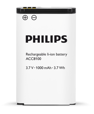 Philips ACC8100 Rechargeable li-ion Battery