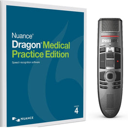 Dragon Medical 4 Wireless -  SpeechMike Premium Air
