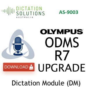 Olympus AS9003 Dictation Module Upgrade License Key
