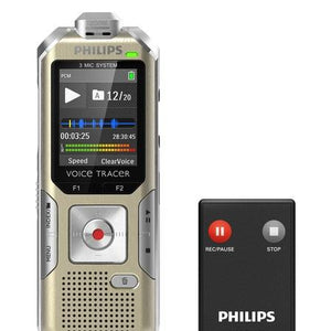 Philips DVT6500 Voice Tracer digital recorder Music recording