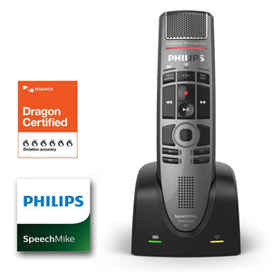 Philips SpeechMike Air Wireless SMP-4000 SpeechMike Push-Button - Dictation Solutions Australia
