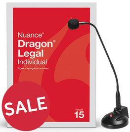 Dragon Legal 15 - Desktop Mic & Training Package - Dictation Solutions Australia
